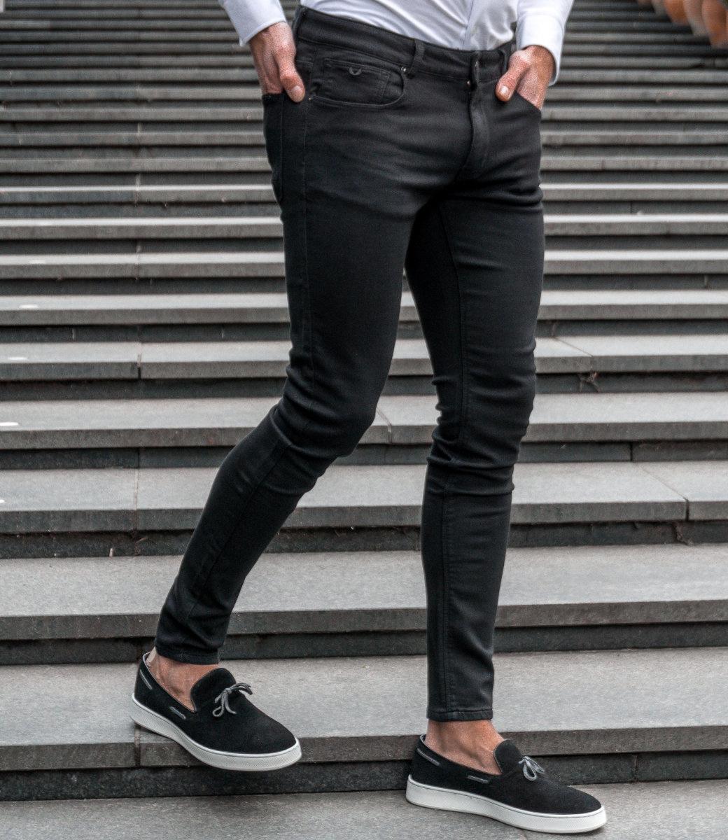 Zumo Extra Skinny Fit Jeans STEVE-TWILL Black