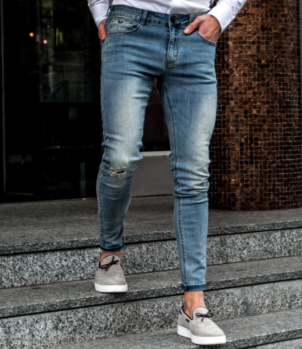Zumo Extra Skinny Fit Jeans STEVE-DAMAGED DirtyBlue