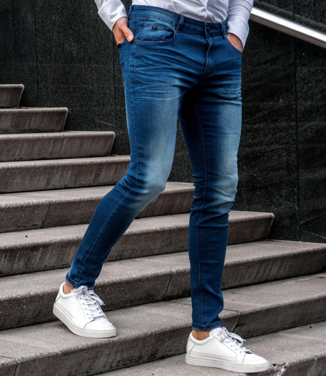 Zumo Extra Skinny Fit Jeans STEVE-SHROUMPF DenimBlue