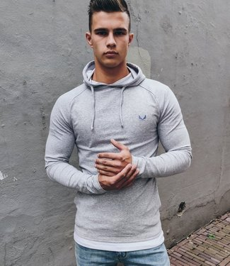 Zumo-Sweatshirts-HOODIE-Q-Light Grey