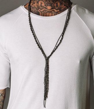 Zumo Necklaces SHOHEI-SN39995 DarkSilver