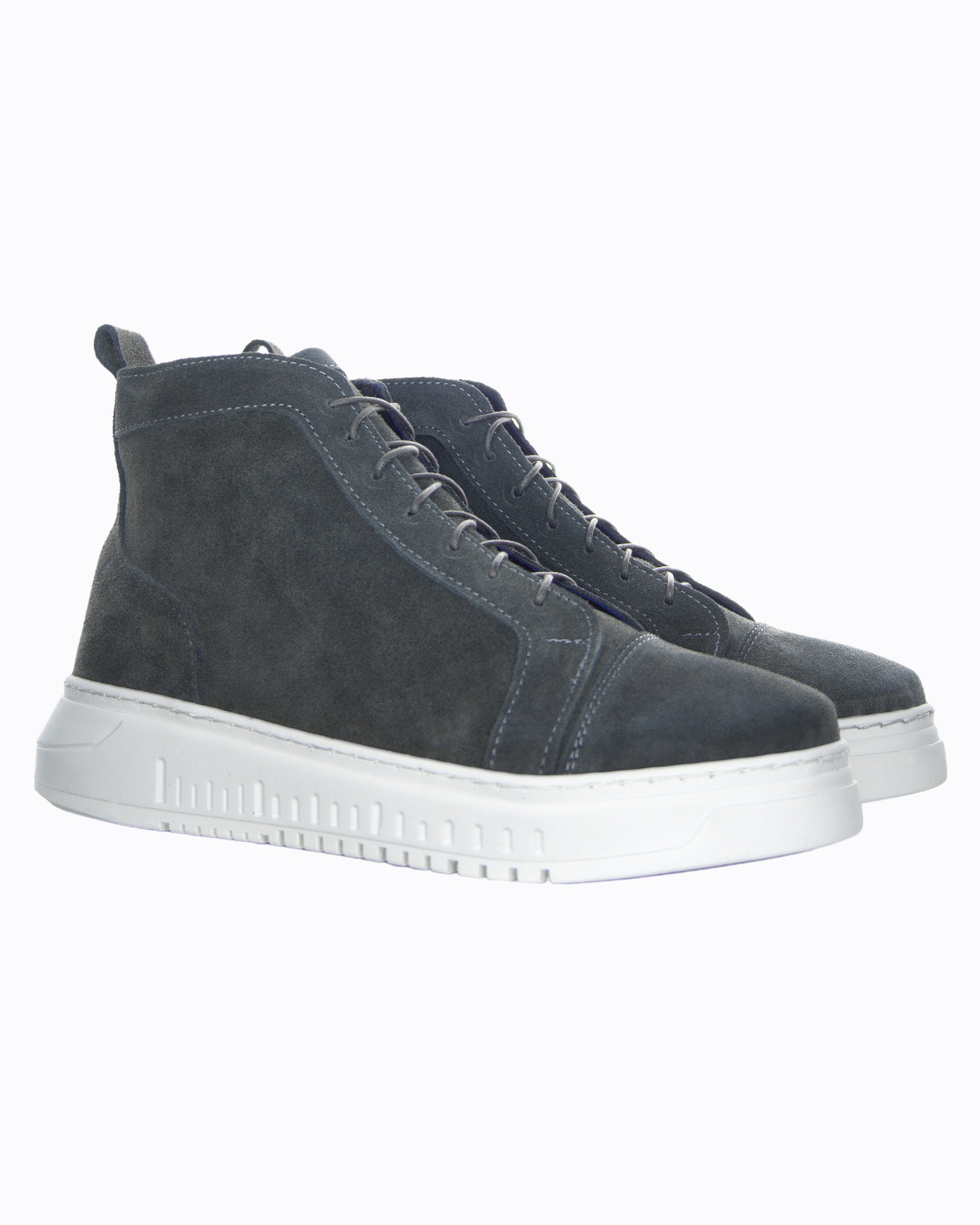 Made in Italy MadeInItaly Sneakers HIGH-TOP-SUEDE DarkGrey