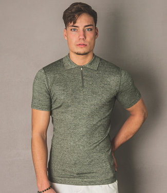 Zumo Slim Fit Pulls HENNE ArmyCream