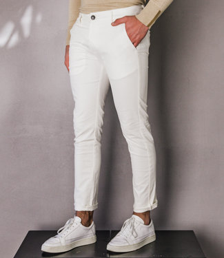 Zumo Slim Fit Pants PALM SPRINGS-II White