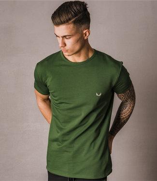 Zumo Regular Fit TShirts HILBRUQ Green