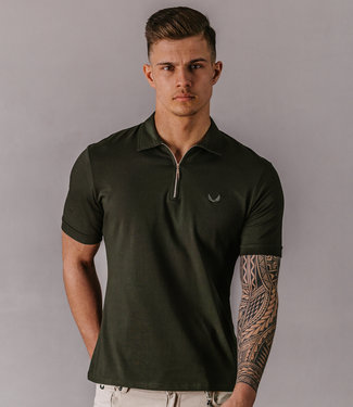 Zumo Slim Fit Polo's LERBY Army