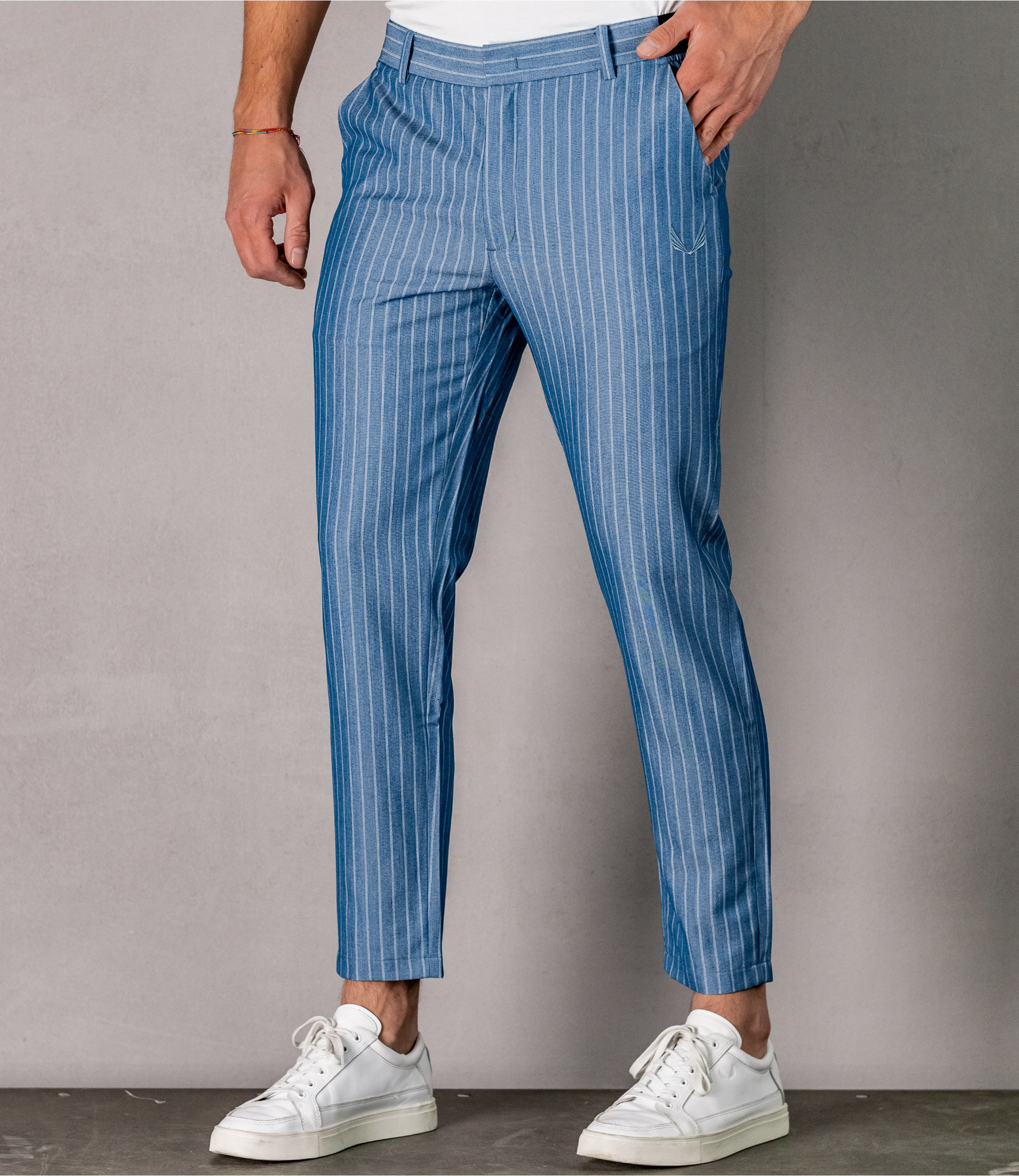 Zumo Slim Fit Pants BRIDGE IndigoBlue