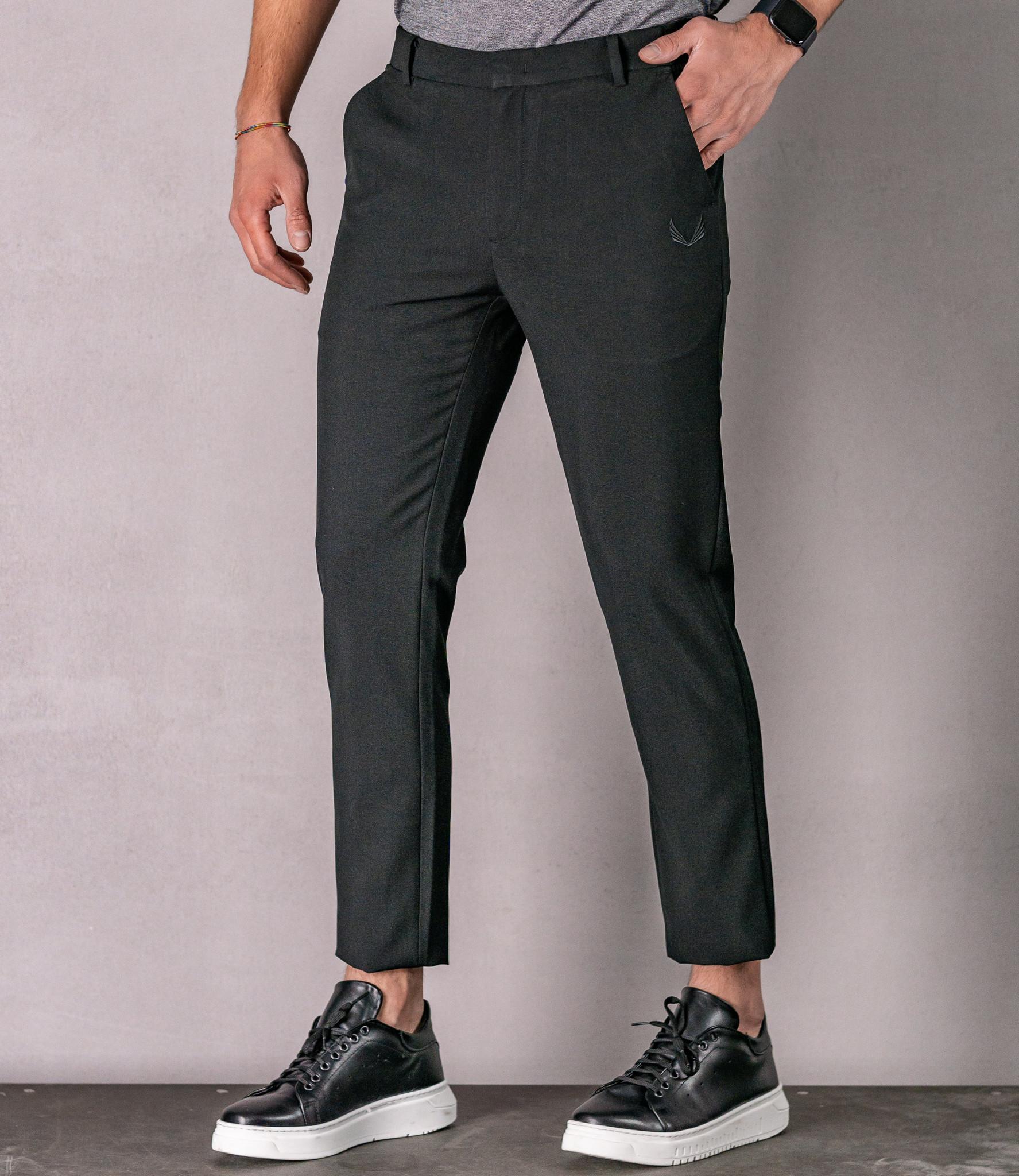 Zumo Slim Fit Pants BRIDGE-10 Black