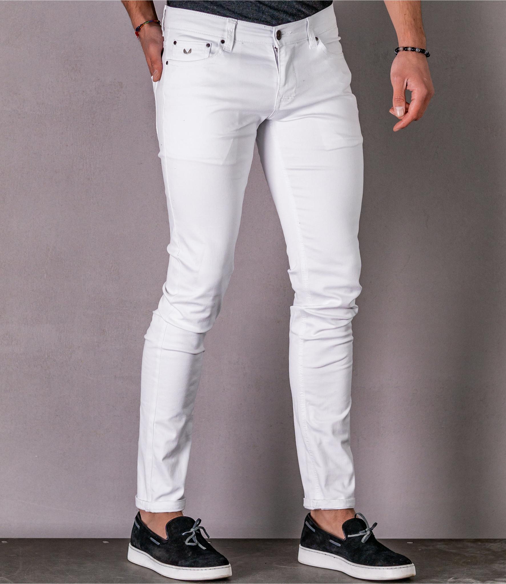 Zumo Skinny Fit Jeans CLINT-12ML147 White