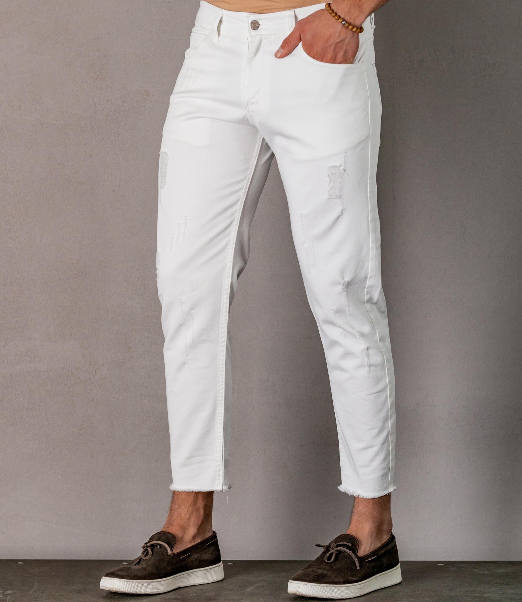 Zumo Slim Fit Jeans NICOLO White