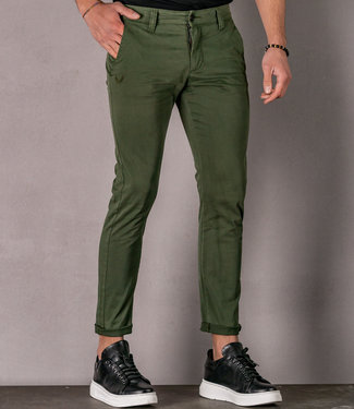 Zumo Slim Fit Pants PALM SPRINGS Army