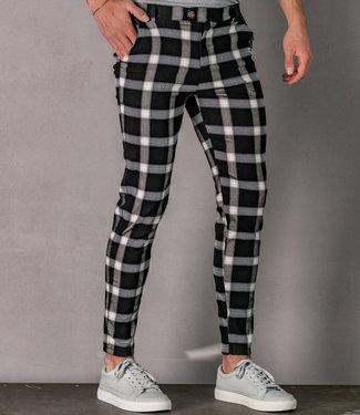 Zumo Slim Fit Pants LORENZO Black