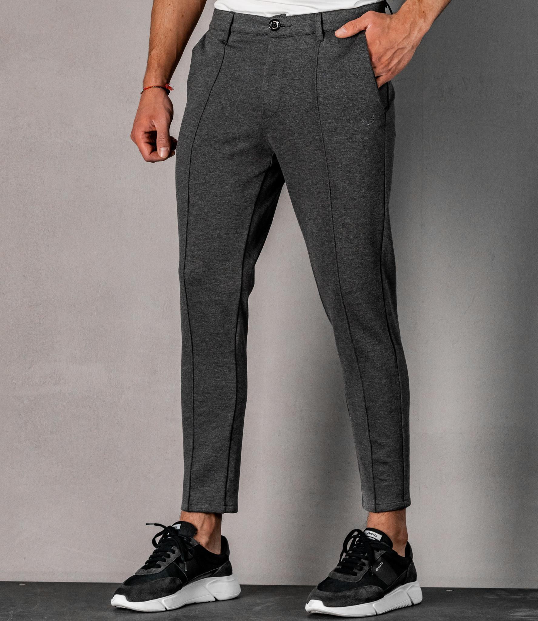 Zumo Slim Fit Pants ZEDD-PM Grey
