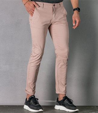 Zumo Slim Fit Pants PALM SPRINGS-II Pink