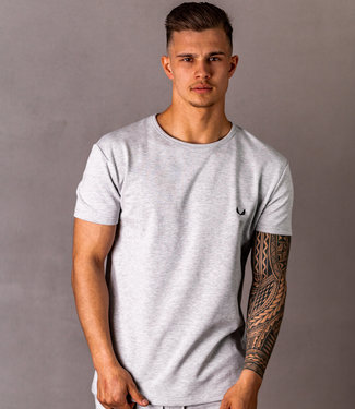 Zumo Regular Fit TShirts HILBRUQ Grey