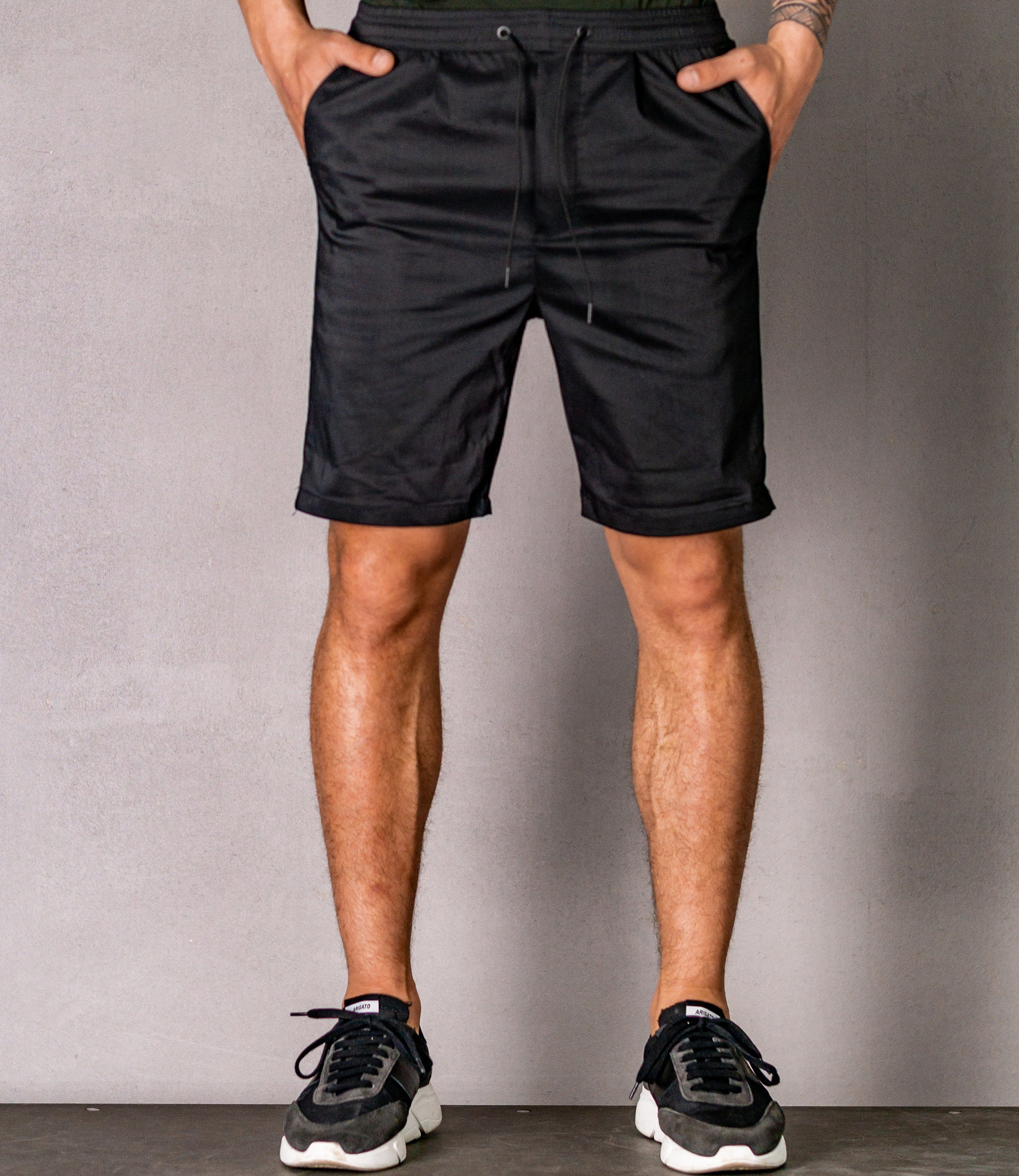Zumo Slim Fit Shorts NADI Black