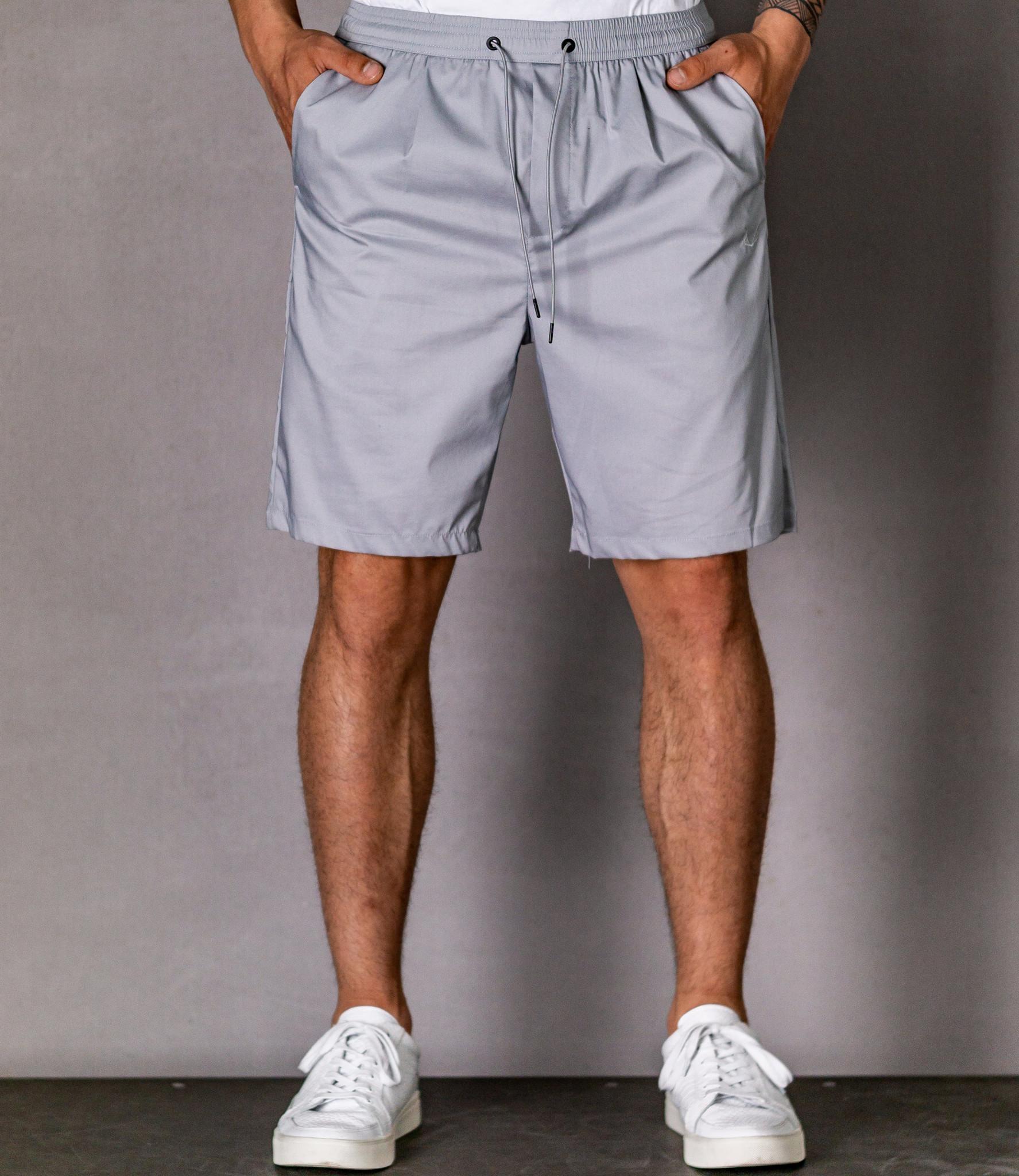 Zumo Slim Fit Shorts NADI Grey