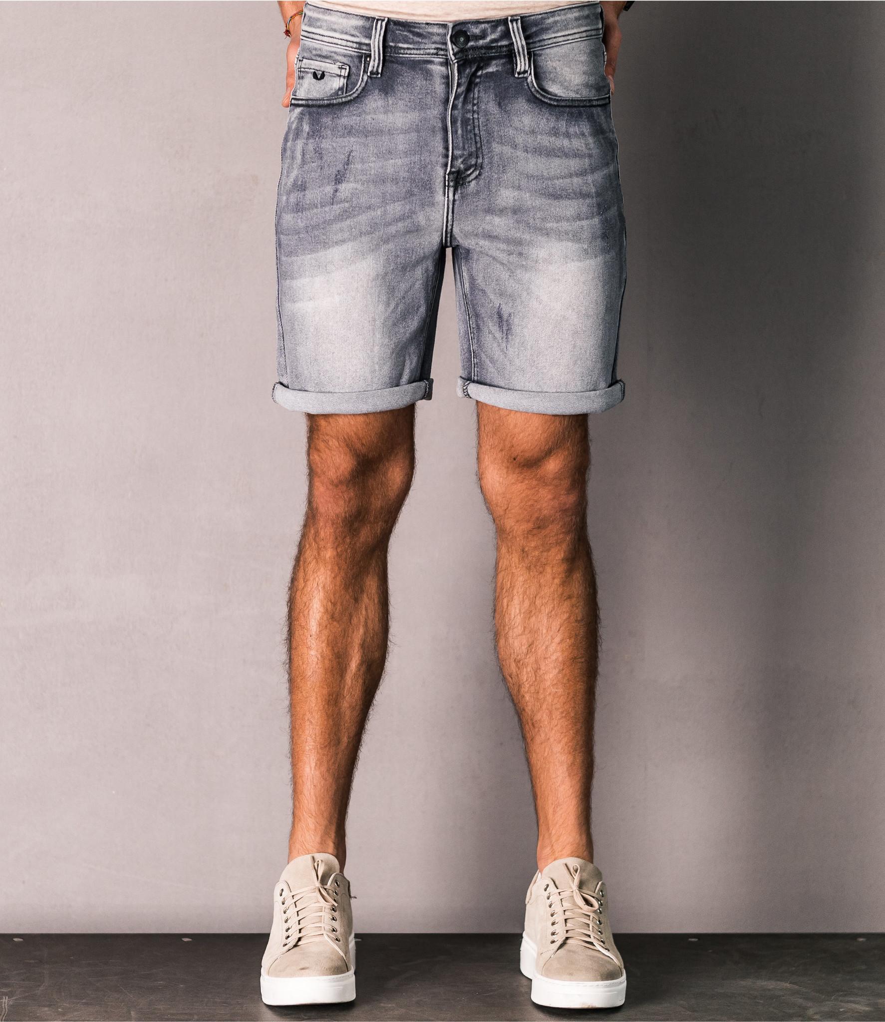 Zumo Slim Fit Shorts MIKE Grey