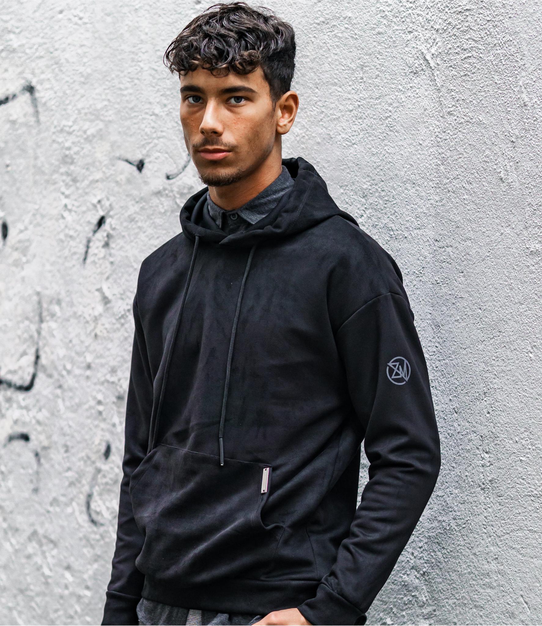 Zumo Oversized Sweater SUFELPA Black