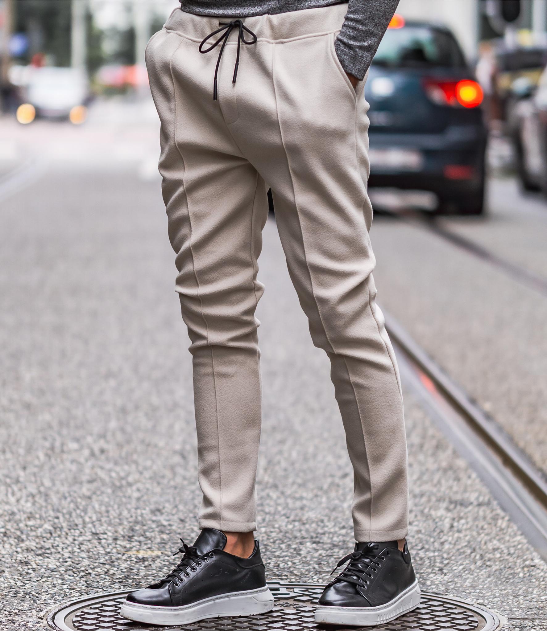 Zumo Carrot Fit Pants DEVITO Sand