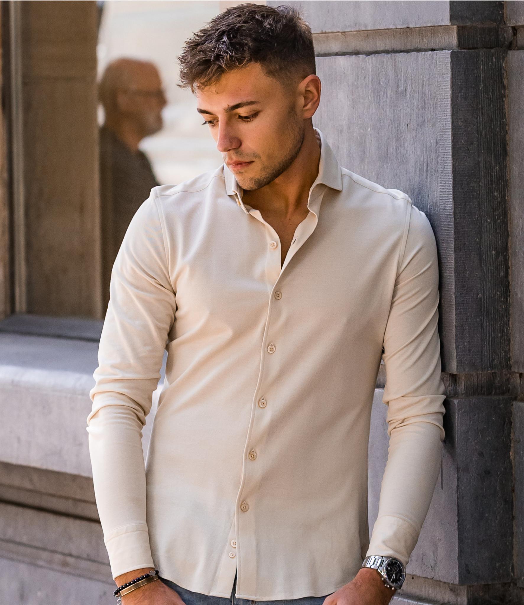 Zumo Slim Fit Shirts WINWOOD-PIQUE Kit
