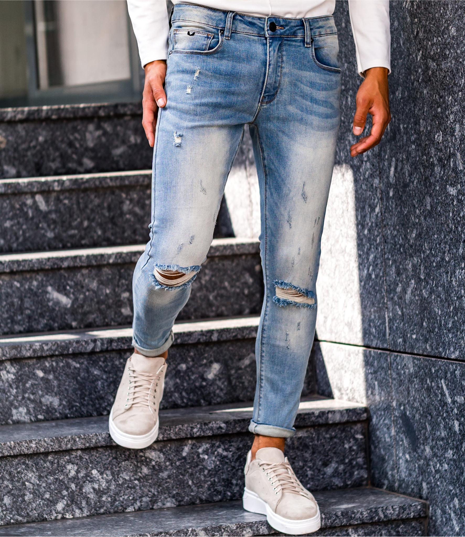 Zumo Extra Skinny Fit Jeans STEVE-E-DAMAGED DirtyBlue
