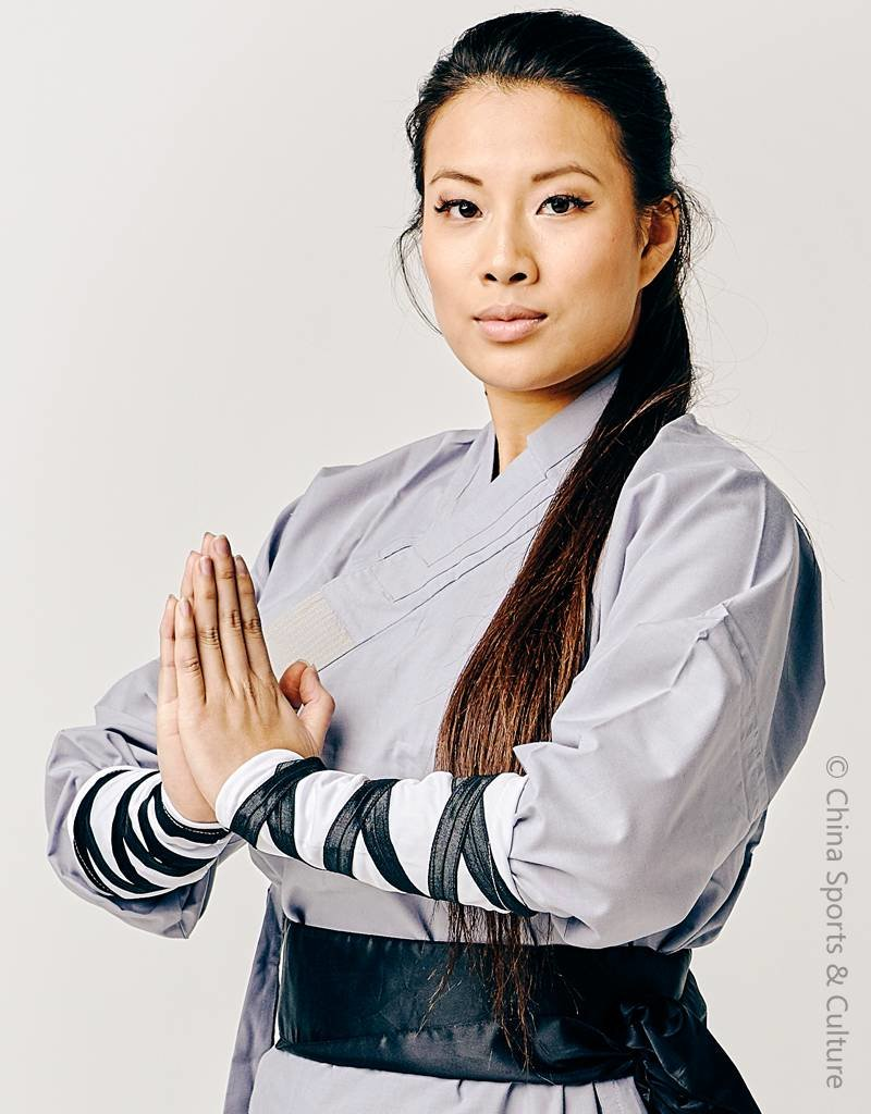 Shaolin Shaolin Monk Uniform - Grey
