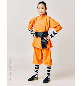 Shaolin Shaolin Monk Uniform - Orange