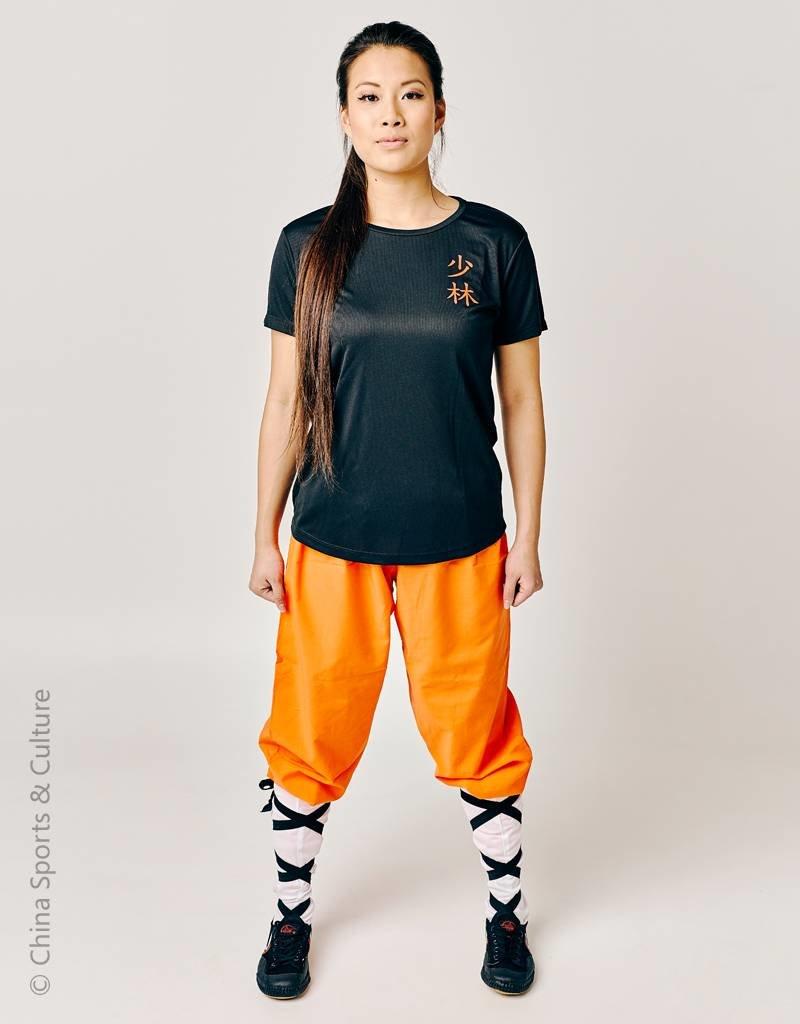 Heren T-shirt Shaolin Kung Fu