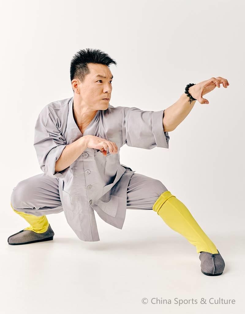Shaolin Shaolin Traditional Uniform - Grey