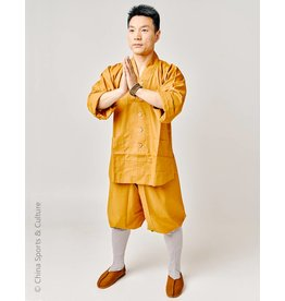 Shaolin Shaolin Traditional Uniform - Ocher 1.65m