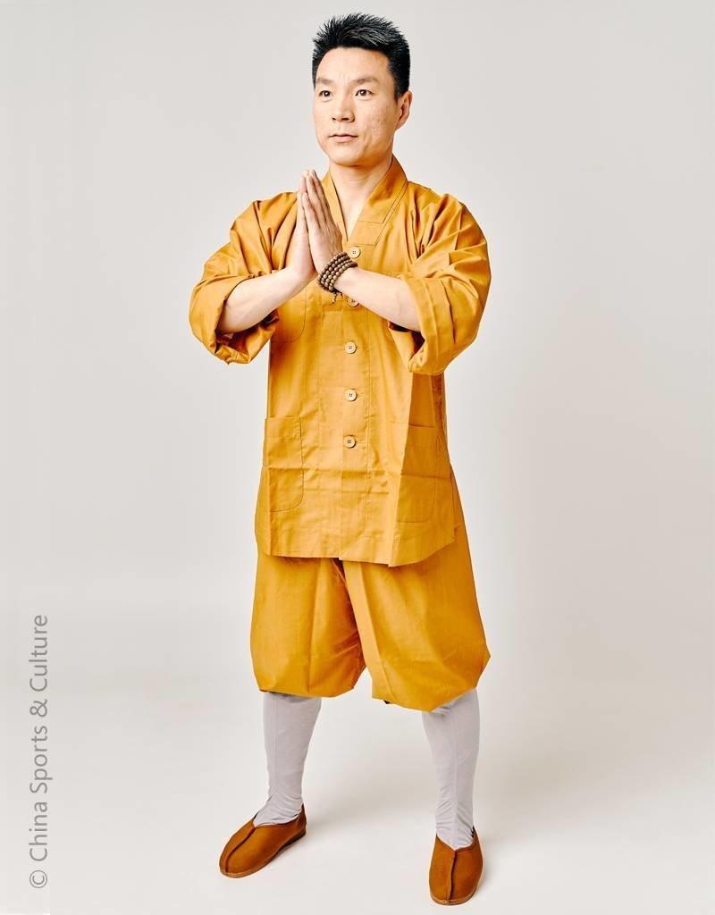 Shaolin Shaolin Traditional Uniform - Ocher 1.65m