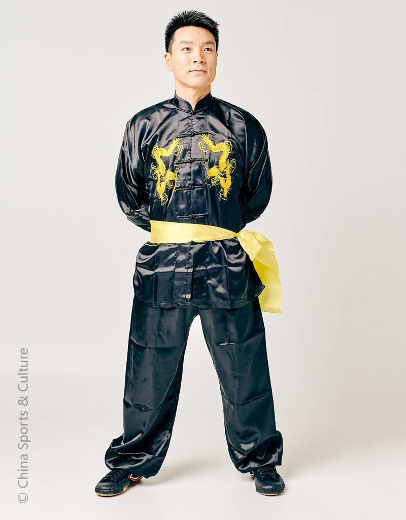 Shaolin Kung Fu Uniform - Golden Dragon