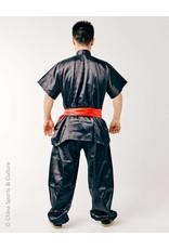 Shaolin Kung Fu Uniform - Zwart