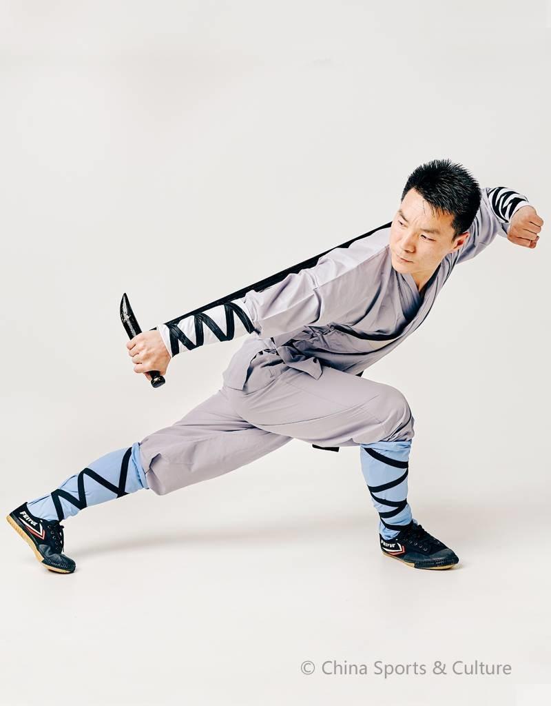 Shaolin Shaolin Kung Fu Luohan Sokken - Blauw