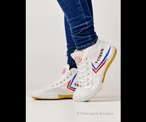 Feiyue Canvas Kung Fu Wushu Taichi Tai Ji Schuhe Sneaker Sport Weiß EU 36-47
