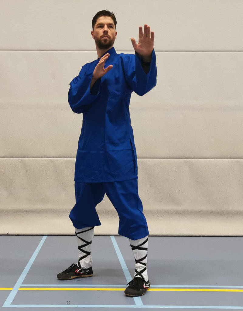 Shaolin Monk Uniform - Blue