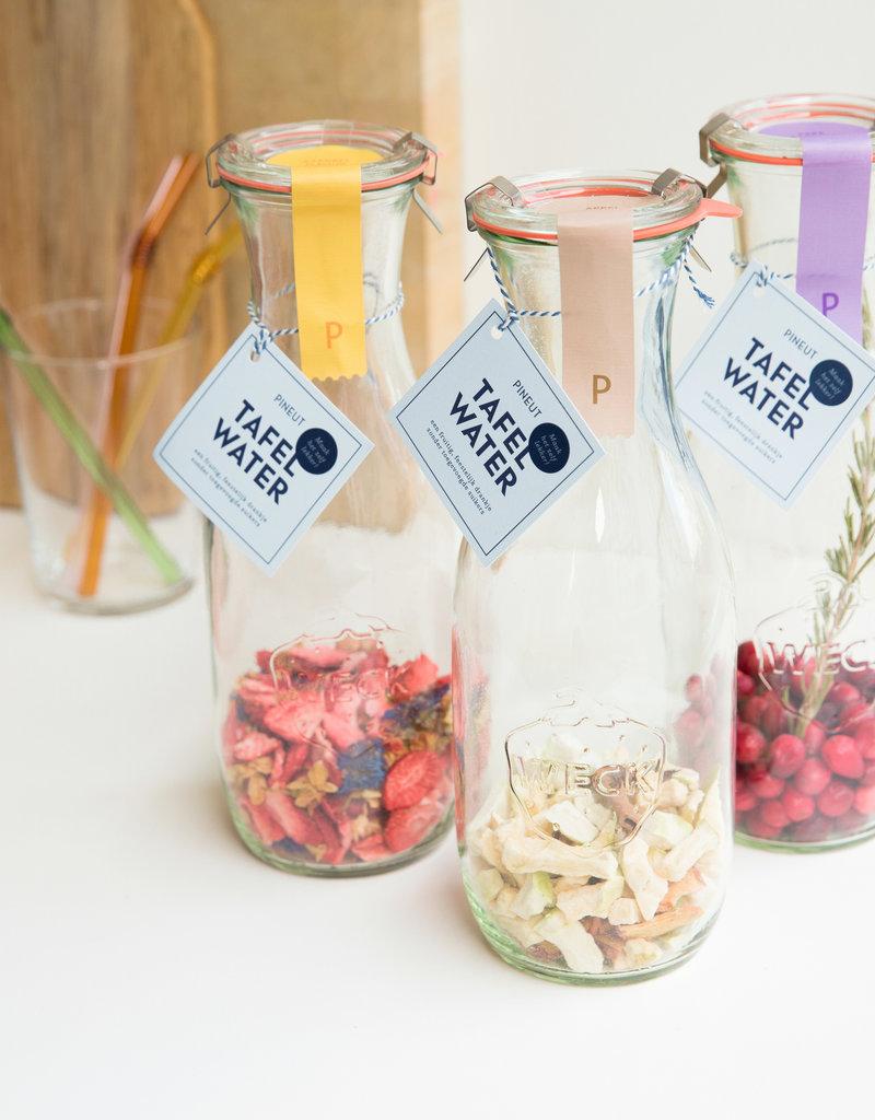 Pineut Fruitig Tafelwater | aardbei, jasmijnbloem, korenbloem