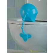 Toilethulpmiddel tegen urinespetters