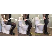 Aluminium opklapbare toiletbeugel Ropox