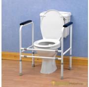 Extra stevig en regelbaar toiletframe