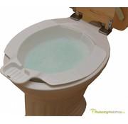 Opzet bidet voor het toilet