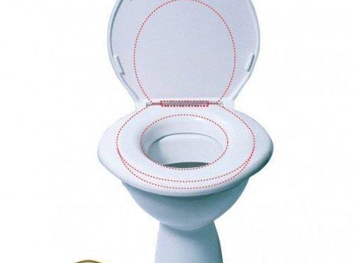 Toiletbril  voor obesitas