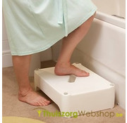 Omkeerbaar opstapbankje voor bad