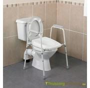Toiletsteun met zitting - 3 modellen