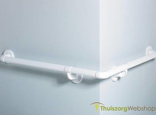 Modulair wandbeugelsysteem in kunststof