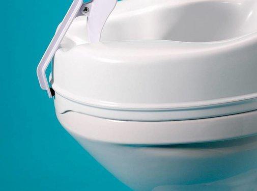 Plasbescherming voor op toiletverhoger