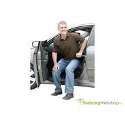 Draagbare uitstaphulp voor de auto