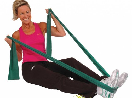 Elastische Therapieband latex 5,5 m
