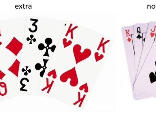 Speelkaarten met extra grote opdruk
